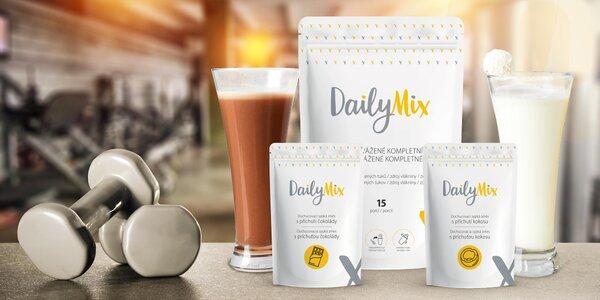 DailyMix: nutričně vyvážené jídlo s proteiny