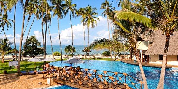 Exotický 4* resort na Zanzibaru s obřím bazénem
