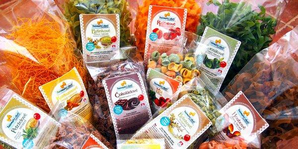 Balíčky těstovin: sladké, bylinkové i houbové