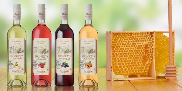 Honey`s: unikátní kombinace vína, ovoce a medu