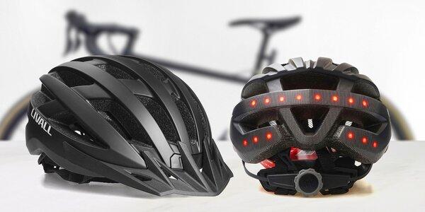 Cyklistická helma Livall s diodami a bluetooth