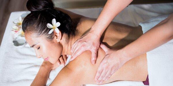 80 minut uvolnění s masáží dle výběru v salonu Elite