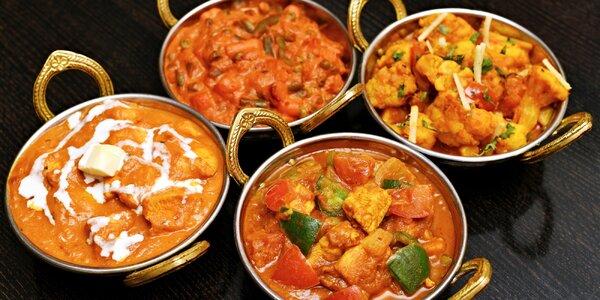 25% sleva do restaurace Mala India na Novém Městě