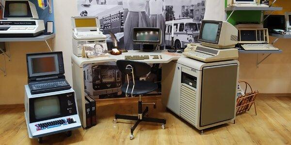 Vstup do muzea Retro Computer vč. hraní her