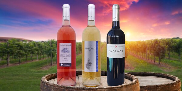 3 vína od Gerarda Depardieu: samotná i v setu