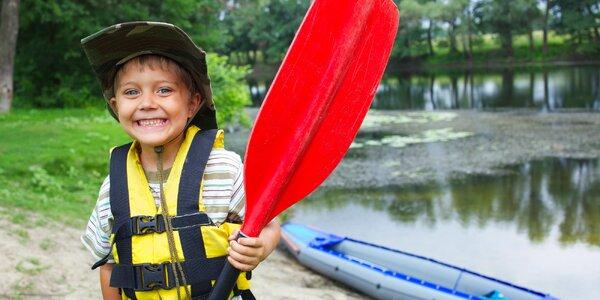 5 dní na vodácko-turistickém příměstském táboře