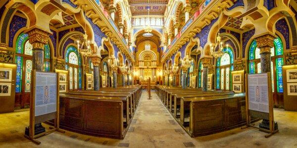 Nádherná nejen barokní hudba v krásné Jeruzalémské synagoze