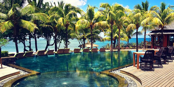 Exotický 4* hotel se 2 bazény a golfovým hřištěm