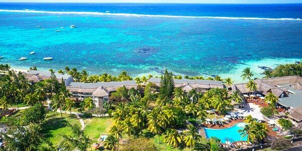 4* resort na Mauriciu: bazén, vířivka i vodní sporty