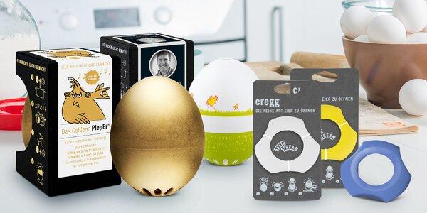 Dokonalá vejce: otvírák i chytrá zpívající minutka
