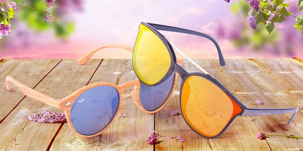 Unisex sluneční brýle od české značky, mnoho barev