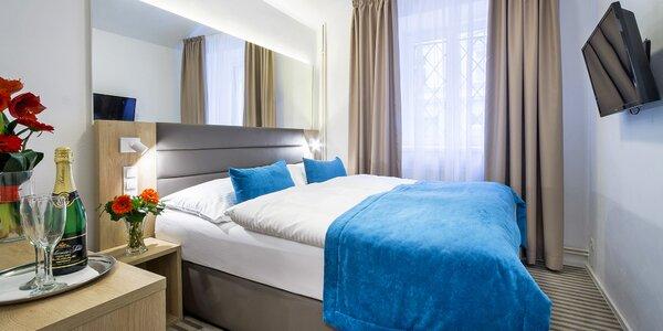Pobyt v Praze pro dva: 4* hotel s bohatou snídaní