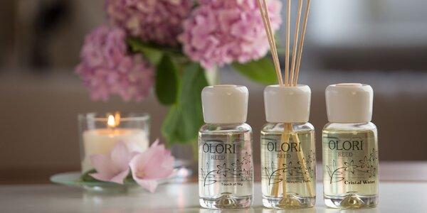 Aroma difuzéry Olori bez alkoholu: 8 svěžích vůní