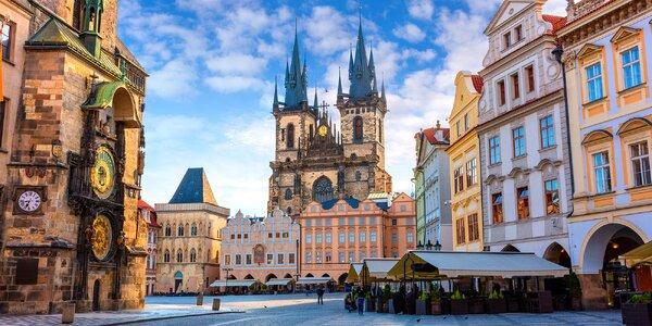 Pobyt pro dva v historickém centru Prahy se snídaní