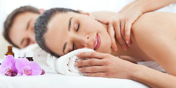 Dvojnásobné potěšení: párová masáž 60–120 minut