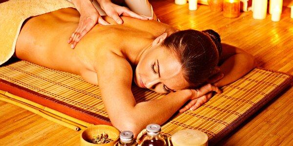 60–120 minut thajské masáže pro uvolnění a relaxaci