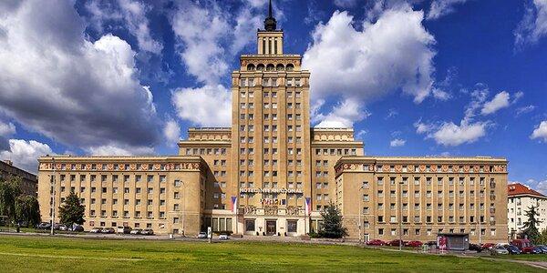 Pobyt v legendárním hotelu International Prague