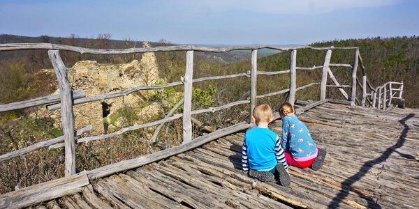 Kam s dětmi na výlet? 13 tipů na procházku lesem v okolí Brna