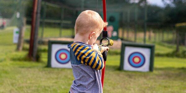 Archery game: adrenalinová hra s lukem pro 1–10 os.