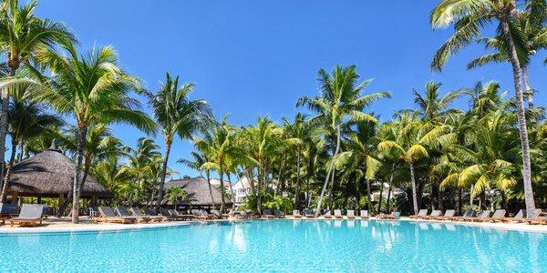 4* resort na Mauriciu s lázněmi a dvěma obřími bazény