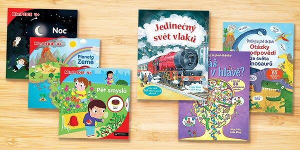 Minipedie a obrázkové encyklopedie pro děti 4+