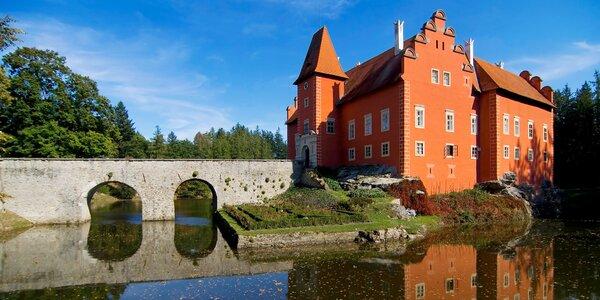 Zámek Červená Lhota a Jindřichův Hradec s úzkokolejkou