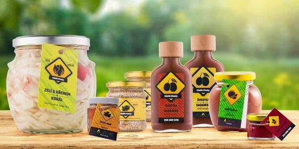 Chilli pochutiny: hořčice, med, zelí i omáčky