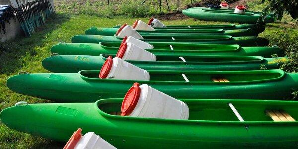 Půjčení lodí: od kanoe pro 2 po šestimístný raft