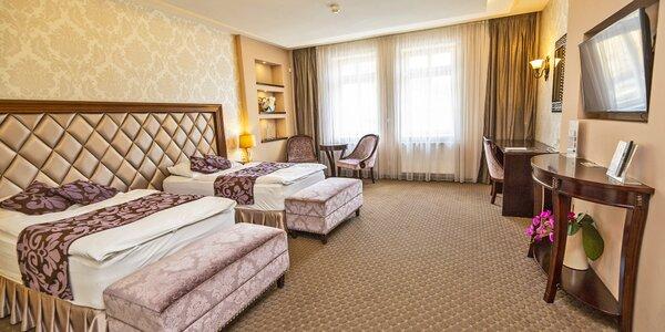 Luxusní pobyt ve Varech: polopenze, sauna i kino
