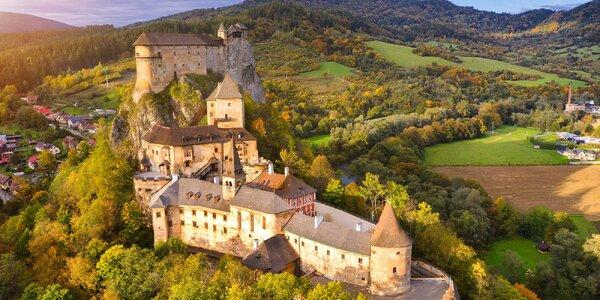 Výlet na Slovensko: Oravský hrad i tradiční skanzen