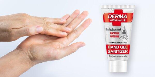 Antibakteriální gel na ruce s 65 % alkoholu