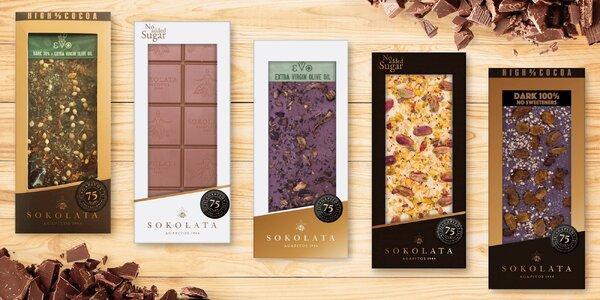 Kvalitní řecké čokolády s netradičními příchutěmi