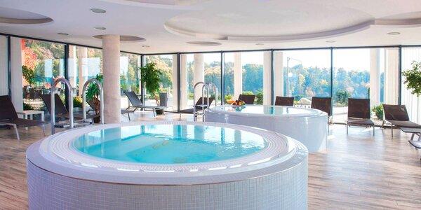 4* luxus ve Velichovkách: jídlo, wellness a bazén