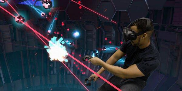 Virtuální realita s HTC Vive na 55 minut až pro 4