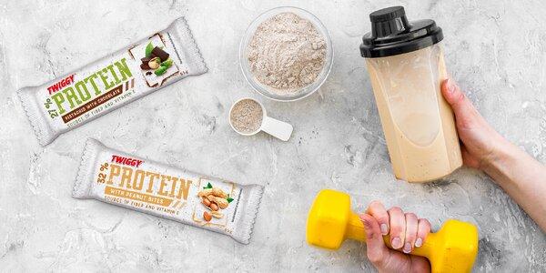 Proteinové tyčinky od českého výrobce Twiggy