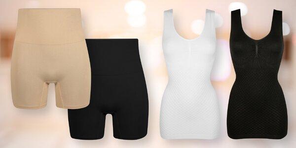 Stahovací prádlo s vysokým střihem a tílka