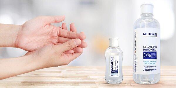 100 nebo 500 ml antibakteriálního gelu na ruce