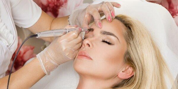 Permanentní make-up obočí nebo rtů