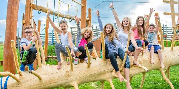 Dětská vstupenka do zábavního parku i jízda na káře