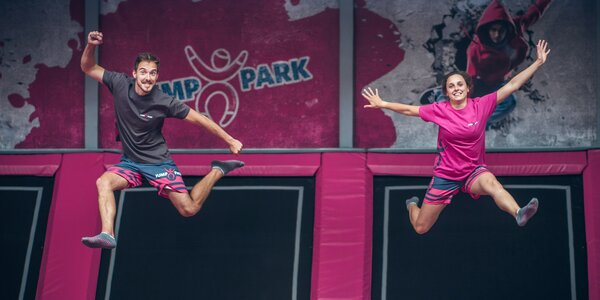 Vstupy do zbrusu nového JumpParku v Letňanech