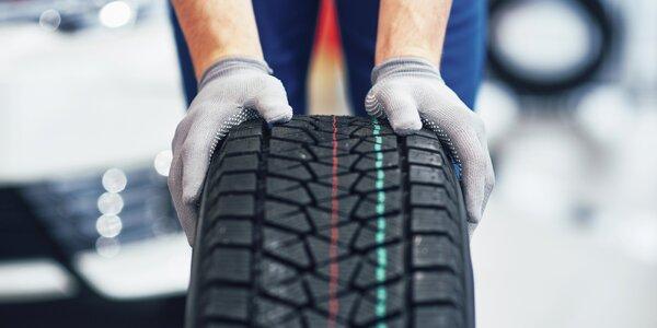 Kompletní přezutí kol i s montáží pneumatik