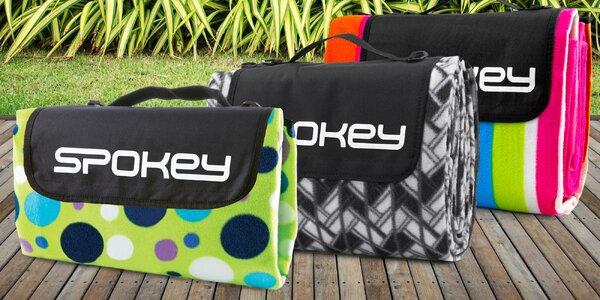 Piknikové deky s hliníkovou fólií a popruhem