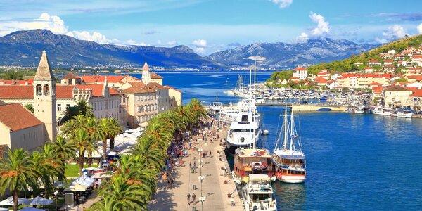 Poznávací zájezd do Dalmácie: doprava i ubytování