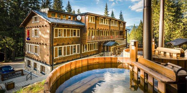 Nízké Tatry až pro 5 os.: polopenze, horský wellness