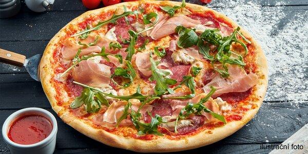 Pizza na místě nebo s sebou