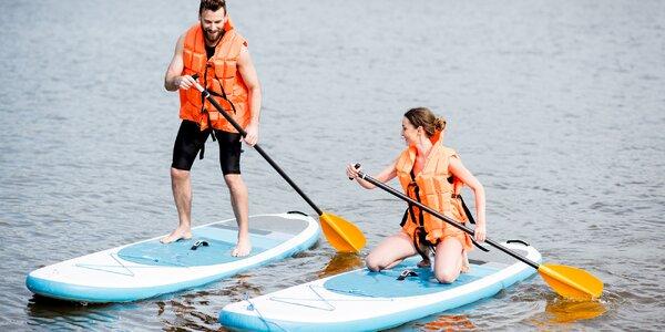 Půjčení paddleboardu na den, víkend i týden