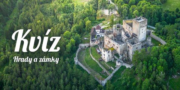 Kvíz: Jak dobře znáte české hrady a zámky?