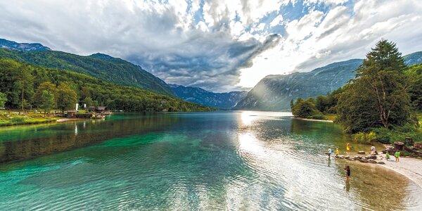 Výlet na Slovinsko: Bohinjské jezero i kaňon