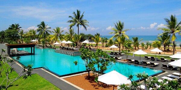 Oblíbený 4* hotel u krásné pláže Bentota