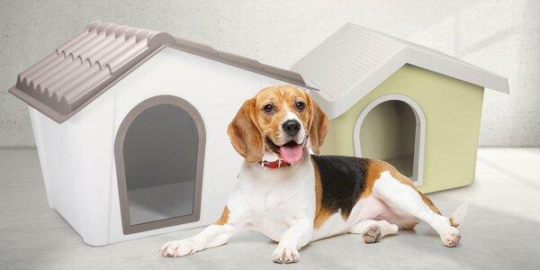 Praktické psí boudy s větráním a stabilním dnem